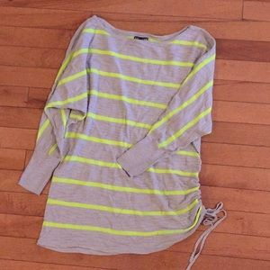 Express women's ruched side shirt size XS